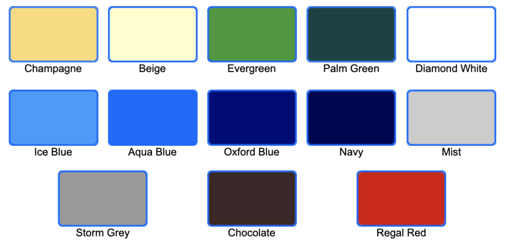 Automatic Safety Pool Cover Colour Choices